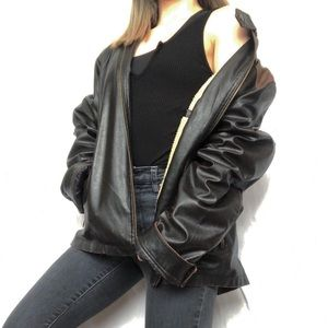Other - Vintage men's leather Jacket